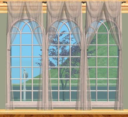 OCTAGON WINDOW CURTAINS « Blinds, Shades, Curtains